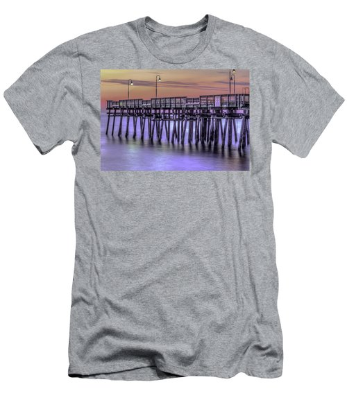 Little Island Pier Men's T-Shirt (Athletic Fit)