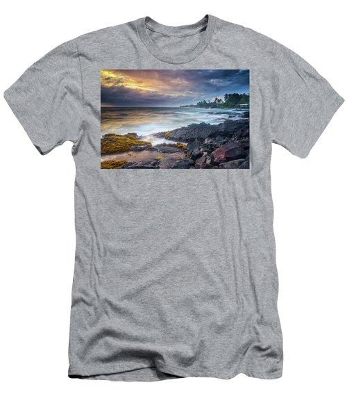 Lyman's Sunset Men's T-Shirt (Athletic Fit)