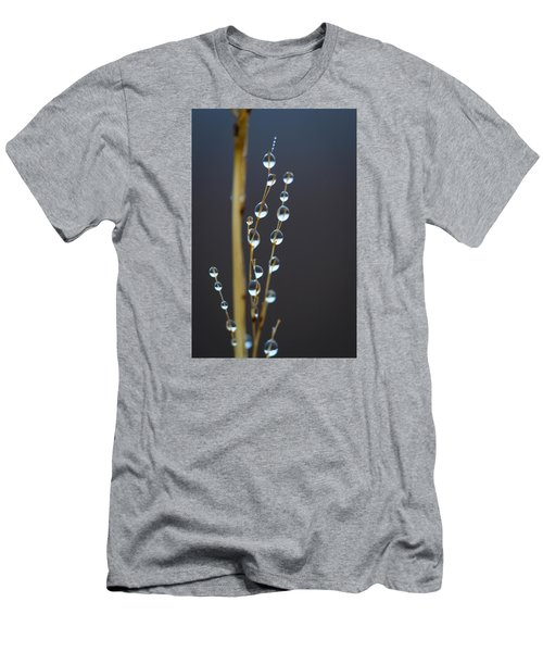 Macro Drops Men's T-Shirt (Slim Fit) by Nikki McInnes