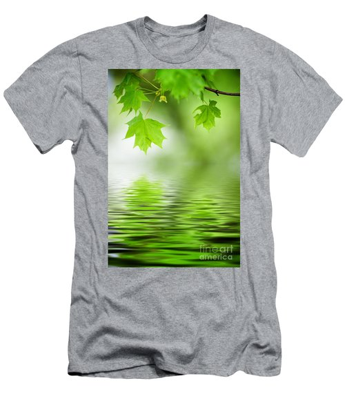 Maple Tree Men's T-Shirt (Athletic Fit)