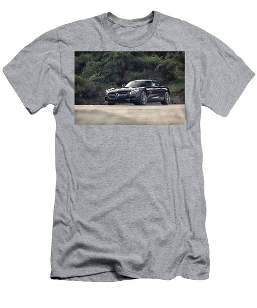 #mercedes #amg #gts Men's T-Shirt (Athletic Fit)