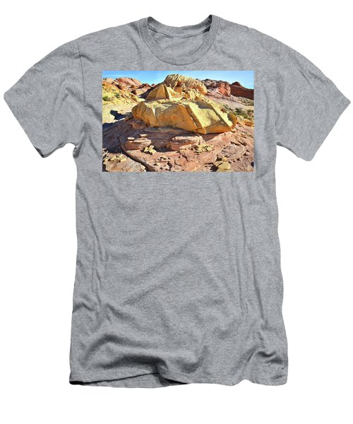 Morning In Wash 3 In Valley Of Fire Men's T-Shirt (Athletic Fit)