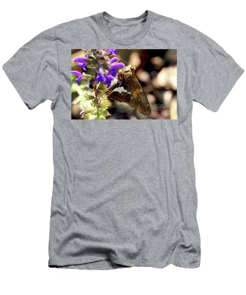 Moth Snack Men's T-Shirt (Athletic Fit)