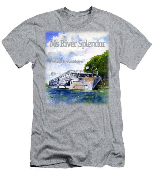 Ms River Splendor Shirt Men's T-Shirt (Athletic Fit)