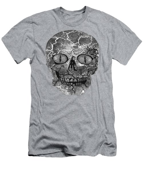 My Spooky Gothic Halloween  Men's T-Shirt (Athletic Fit)