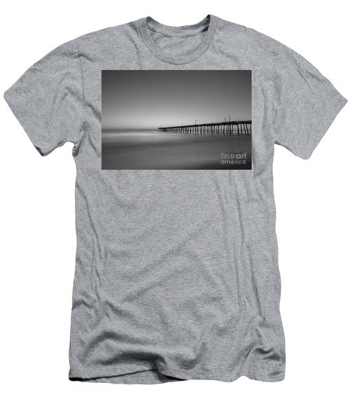 Nags Head Fishing Pier Sunrise Men's T-Shirt (Athletic Fit)