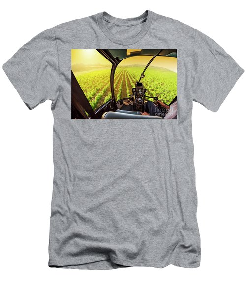 Napa Valley Scenic Flight Men's T-Shirt (Athletic Fit)