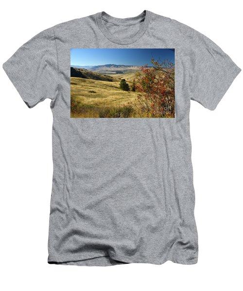 National Bison Range Men's T-Shirt (Athletic Fit)