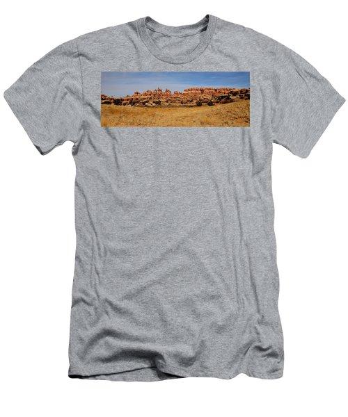 Needles At Canyonlands Men's T-Shirt (Athletic Fit)