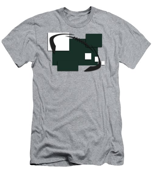 New York Jets Abstract Shirt Men's T-Shirt (Slim Fit) by Joe Hamilton