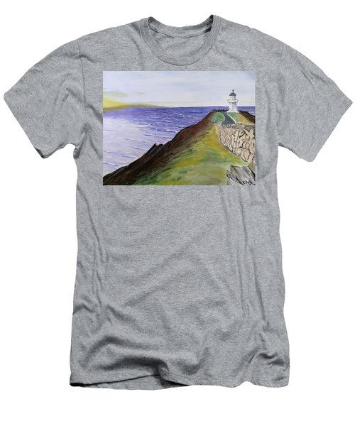 New Zealand Lighthouse Men's T-Shirt (Athletic Fit)