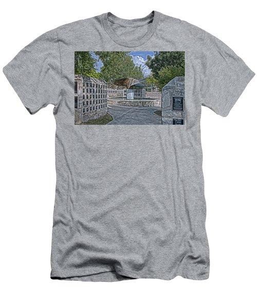 Nimitz Prop Fountain Men's T-Shirt (Athletic Fit)