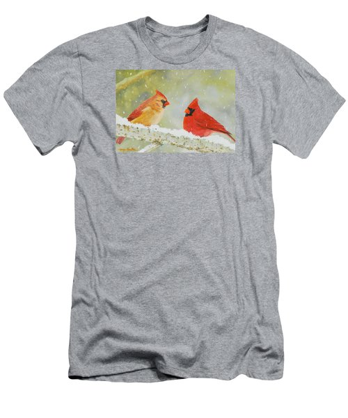 Northern Cardinals Men's T-Shirt (Athletic Fit)