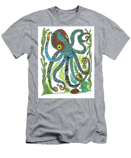 Octopus' Garden Men's T-Shirt (Athletic Fit)