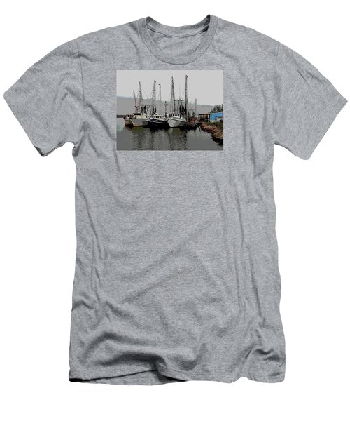 Men's T-Shirt (Slim Fit) featuring the photograph Off Season by Laura Ragland