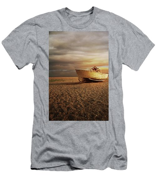 Old Wooden Boat Men's T-Shirt (Athletic Fit)