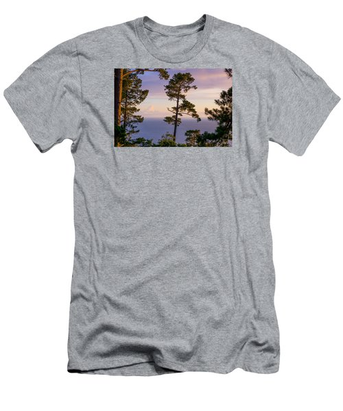 On The Edge Men's T-Shirt (Slim Fit) by Derek Dean