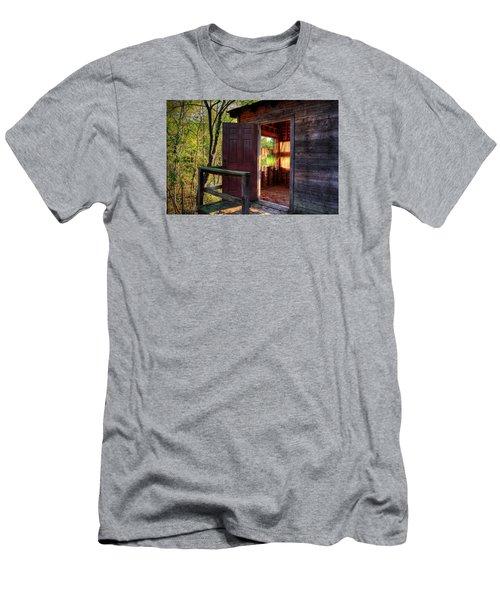 Open Door Men's T-Shirt (Slim Fit) by Ester  Rogers