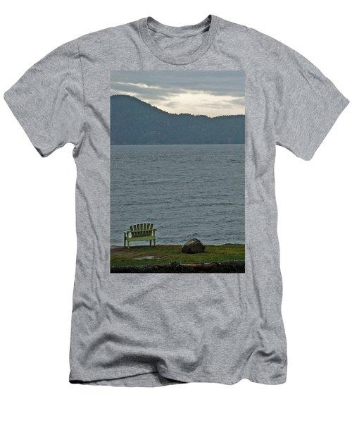 Orcas Island View Men's T-Shirt (Athletic Fit)