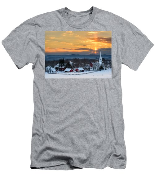 Peace Over Peacham Men's T-Shirt (Athletic Fit)