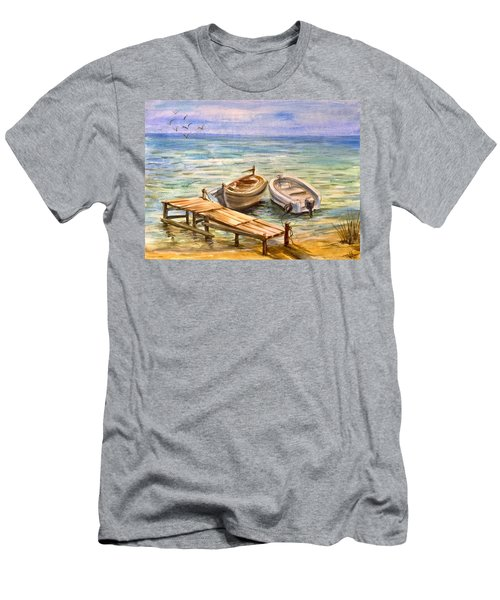 Peaceful Evening Men's T-Shirt (Athletic Fit)