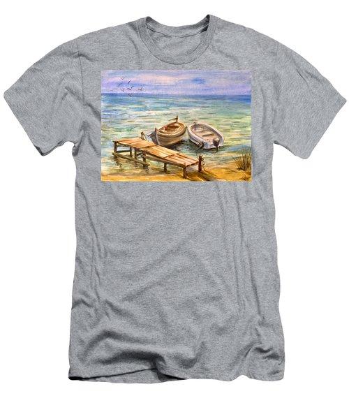 Peaceful Evening Men's T-Shirt (Athletic Fit)
