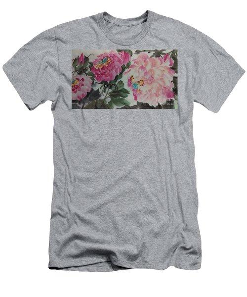 Peoney20161230_624 Men's T-Shirt (Athletic Fit)