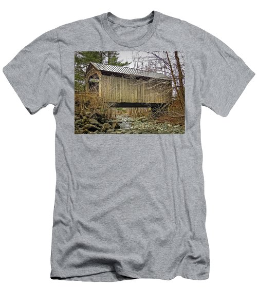Pine Brook Bridge Men's T-Shirt (Athletic Fit)