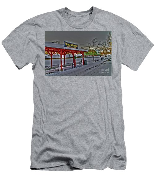Pittsford Canal Park Men's T-Shirt (Athletic Fit)