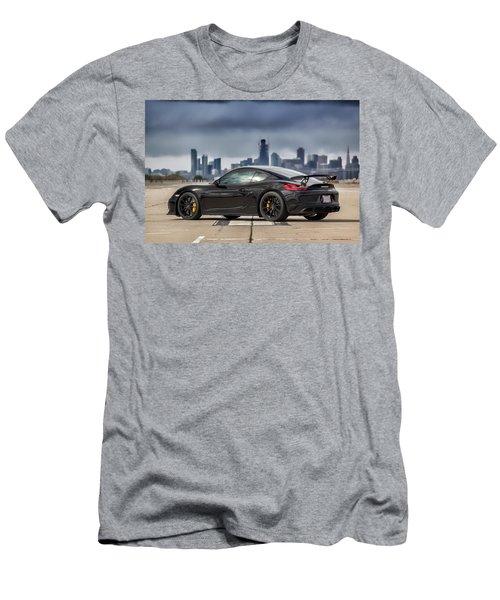 #porsche #cayman #gt4 Men's T-Shirt (Athletic Fit)