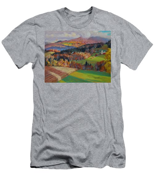 Pownel Vermont Men's T-Shirt (Athletic Fit)