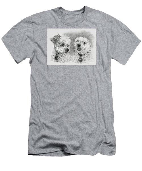 Precious Ones  Men's T-Shirt (Athletic Fit)