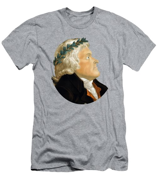 President Thomas Jefferson - Two Men's T-Shirt (Athletic Fit)