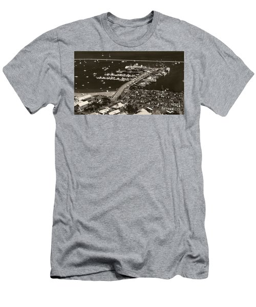 Men's T-Shirt (Slim Fit) featuring the photograph Provincetown  by Raymond Earley