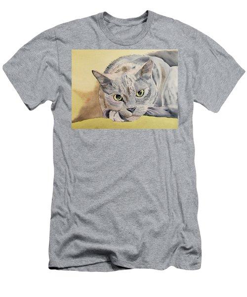 Puss Off Men's T-Shirt (Athletic Fit)