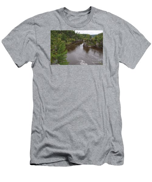 Men's T-Shirt (Slim Fit) featuring the photograph Rainy Day Beauty by Sandra Updyke