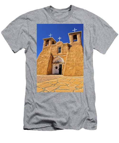 Ranchos De Taos Church  Men's T-Shirt (Athletic Fit)