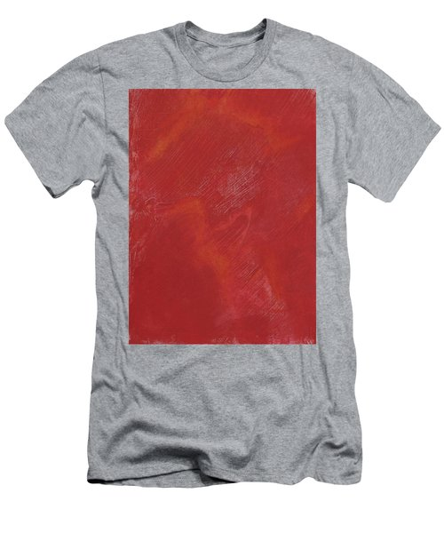 Red Field Men's T-Shirt (Athletic Fit)