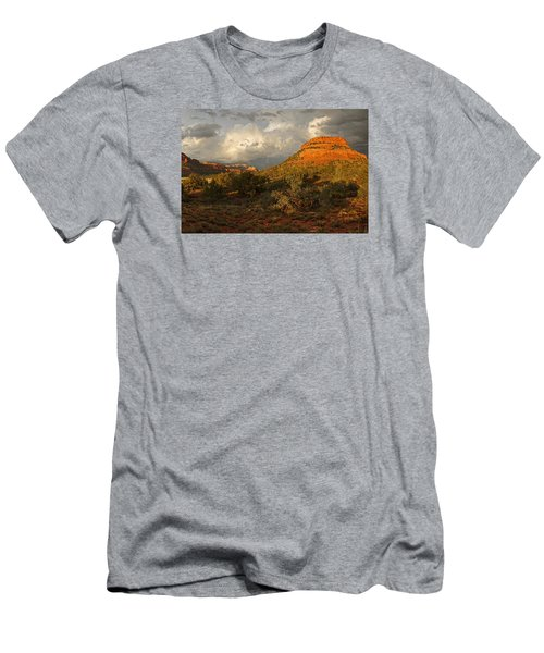 Red Rock Majesty Men's T-Shirt (Athletic Fit)