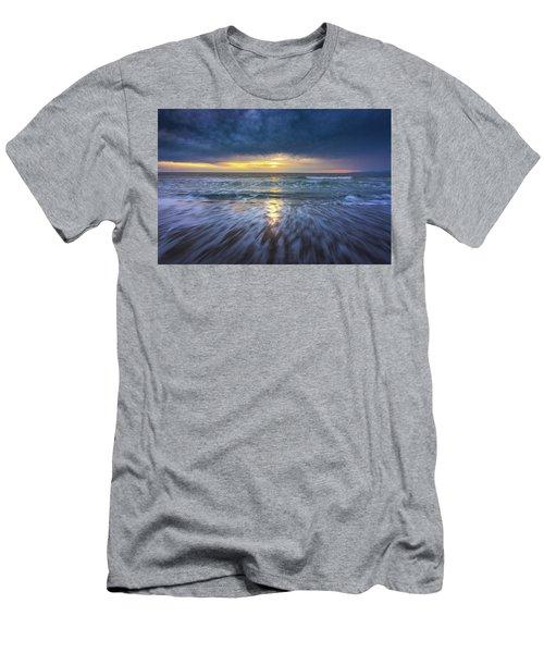 Redondo Beach Sunset Men's T-Shirt (Athletic Fit)