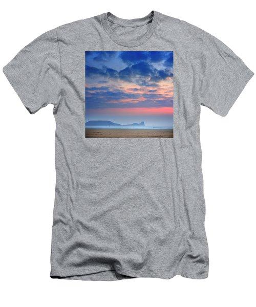 Rhosili 4 Men's T-Shirt (Athletic Fit)