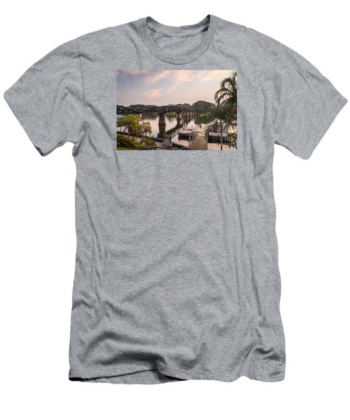 River Kwai Bridge Men's T-Shirt (Athletic Fit)