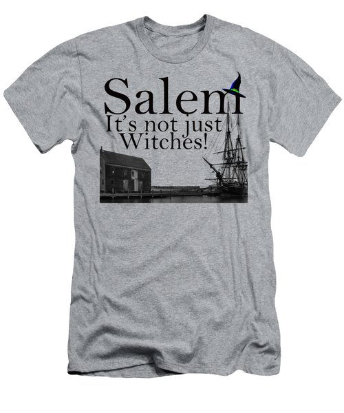 Salem Its Not Just For Witches Men's T-Shirt (Slim Fit) by Jeff Folger