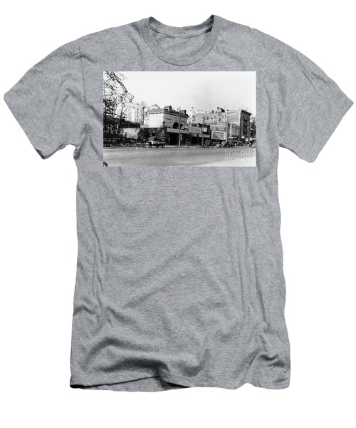 Men's T-Shirt (Athletic Fit) featuring the photograph Seaman Drake Arch  by Cole Thompson