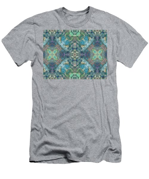 Seascape II Men's T-Shirt (Slim Fit) by Maria Watt