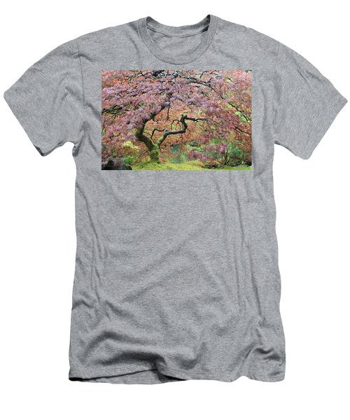 Men's T-Shirt (Athletic Fit) featuring the photograph Shaded By Beauty by Brandy Little