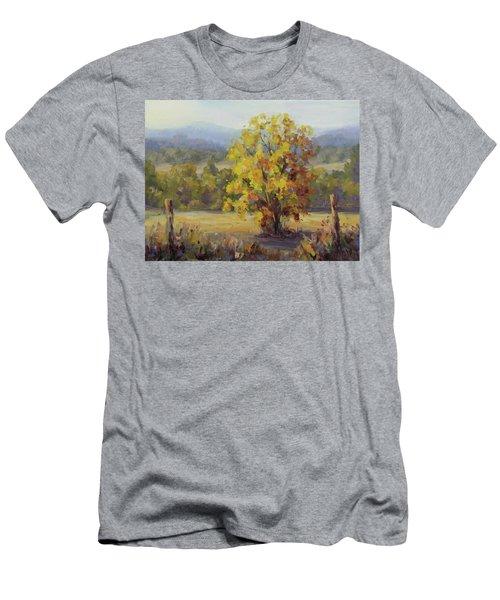 Shades Of Autumn Men's T-Shirt (Slim Fit) by Karen Ilari