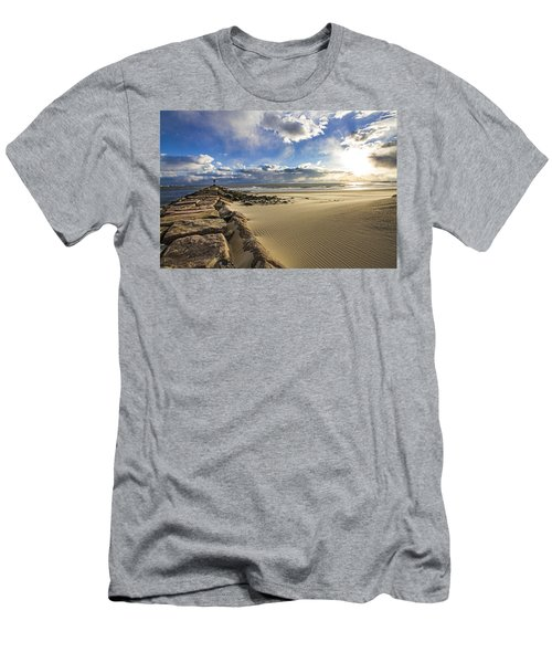 Shinnecock Sand Drift Men's T-Shirt (Athletic Fit)