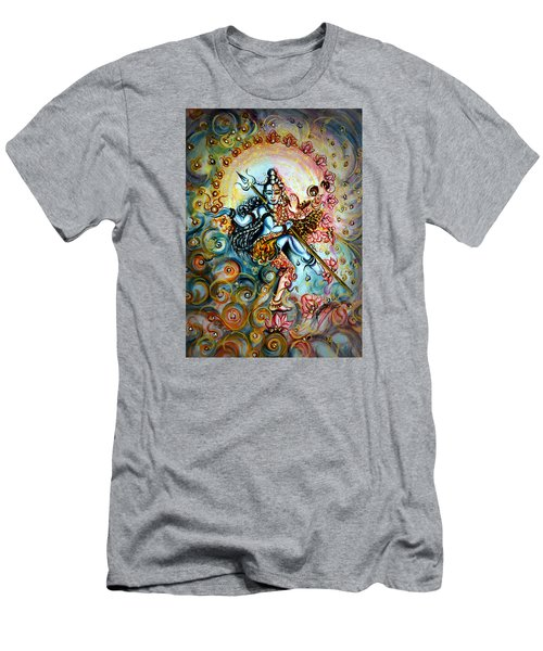 Shiva Shakti Men's T-Shirt (Slim Fit) by Harsh Malik
