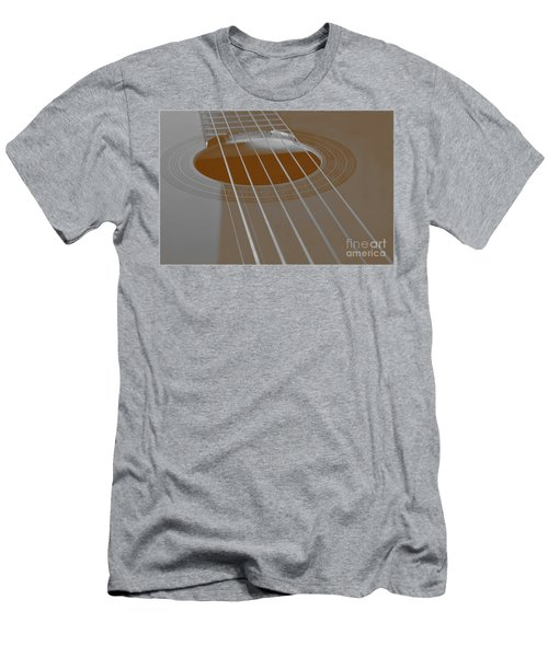 Six Guitar Strings Men's T-Shirt (Athletic Fit)